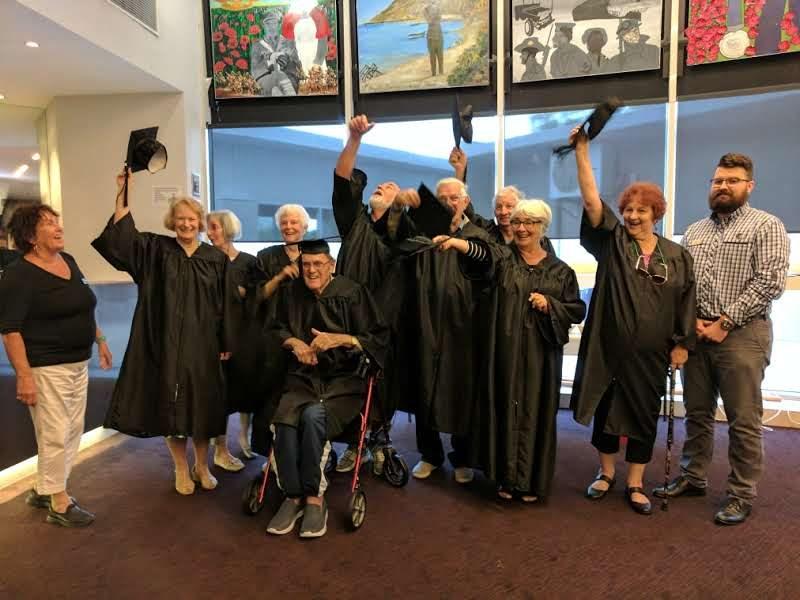 Some Very Savvy Seniors